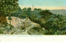 Chattanooga,TN.Goverment Boulevard on Crest of Missionary Ridge,a Tuck Post Card