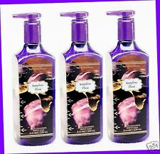 3 Bath & Body Works SAPPHIRE PLUM Deep Cleansing Hand Soap