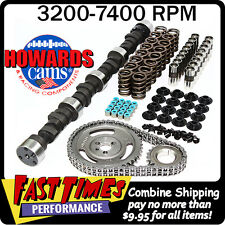 "HOWARD'S BBC Big Block Chevy 305/313 612""/595"" 110° Comp Hyd. Cam Camshaft Kit"