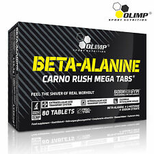 BETA-ALANINE  80 Tablets Pre-Workout Booster Endurance Long Lasting Performance