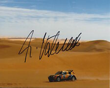 Ari Vatanen Hand Signed Peugeot 10x8 Photo Rally World Champion 10.