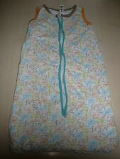 C & A sweet Sleeping bag ca. 66 cm, white-beige-orange-blue with Animal Motifs
