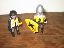 PLAYMOBIL CASTLE KNIGHTS HELMET SHIELD PLAY FIGURES SIT OR STAND ADD TO OTHER