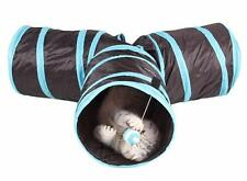 New Pet Tunnels Cat Products Toys Funny Hole Kitten Long Tunnel 3 Ways Toys