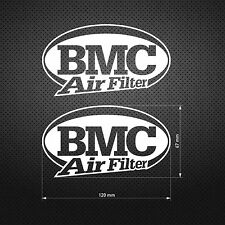 BMC AIR FILTER STICKER DIE CUT DECAL VINYL RACING 2 pcs