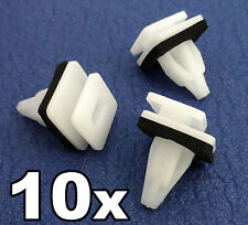 10x Honda StepWGN Plastic Trim Clips for Side skirts Sill Moulding Rocker Cover