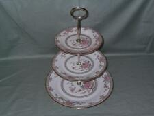"Royal Doulton ""Canton"" 3-Tier Hostess China Cake Plate Stand H.5052 (V1)"
