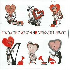 CD album - LINDA THOMPSON - VERSATILE HEART  ( dc3- T )