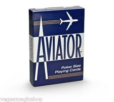 Aviator Standard Blue Deck Playing Cards Poker Size USPCC Premium Quality Sealed
