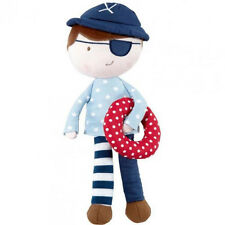 Mamas & Papas Made With Love - Pirate Doll - Chime Toy!