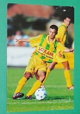 PHOTO UNFP FOOT 2000 FC NANTES FCNA CARRIERE FOOTBALL 1999-2000 PANINI