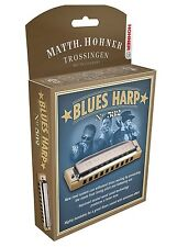 "NEW HOHNER 532/20 BLUES HARP HARMONICA ""F"" HARP & CASE NEW IN PACK SALE"