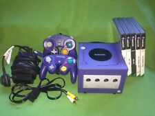 Nintendo Gamecube Console 2x  Controller Games Bundle Job Lot Game Cube NHL NBA