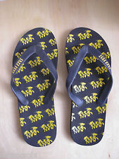 Neet Feet Official New Orleans JAZZ FEST Flip Flops Women 9.5-10.5 Mens 8.5-9.5