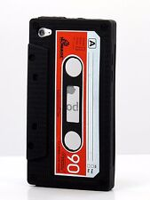for iPod touch 4th 4 th 4g itouch cute case cover skin cassette tape