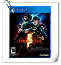 PS4 Resident Evil 5 SONY PLAYSTATION Capcom Action Games