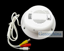 Sharp CCD Color camera with Smoke Detector Alarm Function Fire Alarm