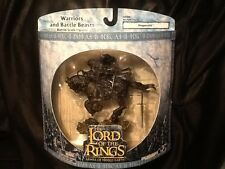 Lord of the Rings Ringwraith Warriors and Battle Beasts MINT AOME