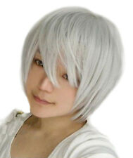 Fashion Short Wig Cosplay Party Costume Straight Wigs Full Wig 11 Colors+FreeCap