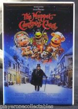"The Muppet Christmas Carol Movie Poster - 2"" X 3"" Fridge / Locker Magnet. Kermit"