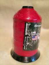 Brownell Dacron Bow String Material B-50 ONE pound Spool RED