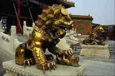 630083 A Statue In The Forbidden City Beijing A4 Photo Print