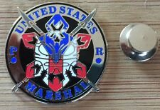 USMS - United States Marshals Service - District of Puerto Rico badge lapel pin