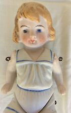 Antique Vintage Bisque Little Boy Doll for Dollhouse, Made in Germany Excellent!