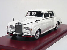 Rolls-Royce Silver Cloud III, White 1963 Cars, TrueScale TSM124370  Resin  1/43