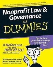 Nonprofit Law & Governance For Dummies (For Dummies (Business & Personal Finance