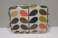 Genuine Orla Kiely - Multi stem make-up / cosmetic / wash bag BNIP