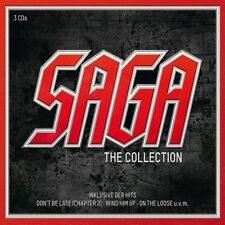 SAGA - THE SAGA COLLECTION 3 CD 36 TRACKS ROCK POP NEU