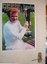 Billy Bremner Leeds United Door Poster COLOUR