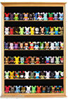 Vinylmation Figurine Miniature Shadow Box Display Case Curio Cabinet: CDSC16