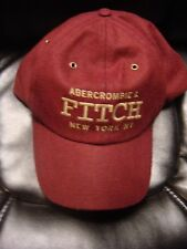 ABERCROMBIE AND FITCH WOOL BASEBALL HAT ONE SIZE BRAND NEW WITH TAGS NWT