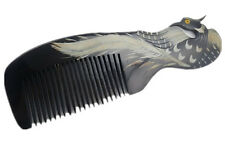 Art Deco Natural Comb Natural OX Horn Comb Collection Gift Hair Loss Comb