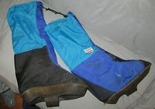 Large, Vintage Chouinard Alpine Gaiters, High altitude mountaineering Scarpa