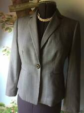 Kasper Petite Woman Long Sleeve Gray Blazer Suit Jacket SZ 8P NEW