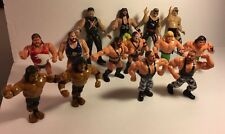 Vintage Wrestling Famous Tag-Teams Lot 14 Wrestlers Figures WWF WWE Lucha Libre