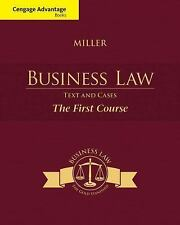 Cengage Advantage Books: Business Law : Text and Cases - the First Course by Rog