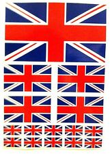 15 Union Jack Flag England GB car van Sticker bike Water proof Buy 2 Get 1 Free