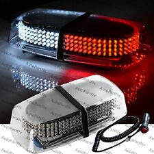 240 LED Magnetic Red White Emergency Truck Strobe Flash Light Warning Roof