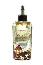 Aphrodisiac Body Oil. All Natural, Spa, Massage. Infused with Roses and Jasmine