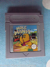 MOLE MANIA ~ NINTENDO GAME BOY ~ COLOR ~ SP~ GBA ~ UK SELLER ~ FAST POSTAGE