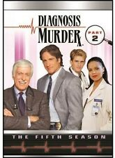 Diagnosis Murder: Season 5 Pt. 2 - 4 DISC SET (2013, REGION 1 DVD New)