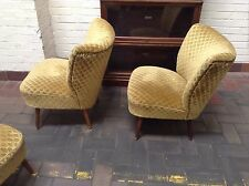 German Bartholomew Vintage Retro Mid Century Tub Cocktail Chair, Last One