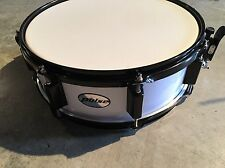 pulse used snare drum, 14 x 5 white with black