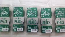 30 Glade Be At Peace Balsam Fir & Juniper Wax Melts 5 NEW PACKS WINTER SPRUCE
