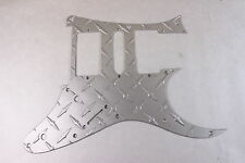 Satin Aluminum Diamond Plate front route Guitar Pickguard fits RG550 Jem RG