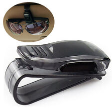 1X Pro Black Car Auto Sun Visor Glasses Sunglasses Card Ticket Holder Clip